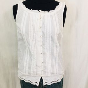 Tommy Hilfiger XS Tucks Embroidery and Eyelet